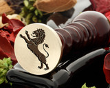 Crest Lion 17 Wax Seal
