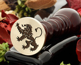 Crest Lion 18 Wax Seal
