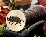 Crest Boar 1 Wax Seal