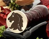 Crest Horse 1 Wax Seal