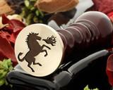 Crest Horse 3 Wax Seal