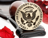 Presidential Seal of the USA Wax Stamp