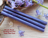 Purple Pearl sealing wax for 7mm glue gun price per stick