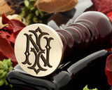 IN NI VICTORIAN MONOGRAMS DESIGN 2