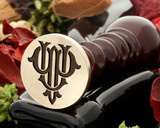 PU UP VICTORIAN MONOGRAMS DESIGN 2