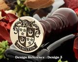 Hamilton (Scotland) Wax Seal Stamp