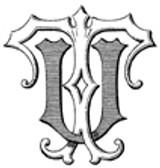 UT TU VICTORIAN MONOGRAMS Wax Seal Stamp from 25mm