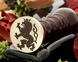 Crest Lion 33 Wax Seal