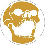Skull 10 laughing skull