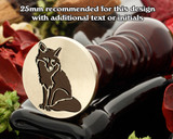 Sitting Fox Wax Seal Stamp