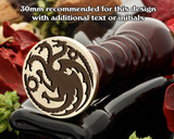 Insignia Three Dragons Wax Seal