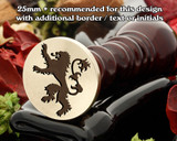 Insignia Lion Wax Seal