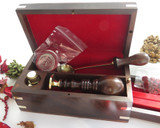 Deluxe Wax Seal Gift box  - stamp not included