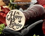 Happy Birthday Wax Seal D1
