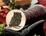 Owl 7 wax seal