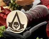 Assassins Creed Skull Wax Seal