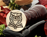 Owl 8 wax seal