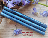 Navy Blue Pearl sealing wax for 7mm glue gun