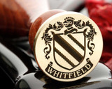 Whitfield Family Crest Wax Seal