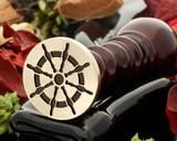 Ships Wheel Wax Seal Stamp