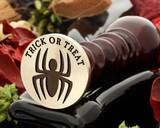 Trick or Treat Halloween Spider Wax Seal