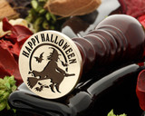 Happy Halloween Witch Wax Seal Stamp