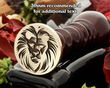 Lion D13/P Wax Seal Stamp