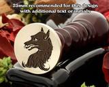 Heraldry Fox Wax Seal Stamp D2