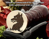 Heraldry Fox Wax Seal Stamp D2