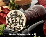 Bird Family Crest Wax Seal D15