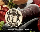 O'Donovan Family Crest Wax Seal D23
