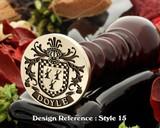 Doyle Family Crest Wax Seal D15