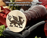 Dragon D3 Wax Seal Stamp
