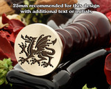 Dragon D29 Wax Seal Stamp