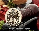 Fairfield Family Crest Wax Seal D1