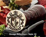 Finglas Family Crest Wax Seal D15