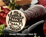 Fenwick Family Crest Wax Seal D23