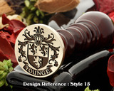 Younge Family Crest Wax Seal D15