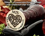 Celtic Heart D27 Gra Dilseacht Cairdeas - Love Loyalty Friendship