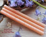 Peach Pearl glue gun sealing wax for 7mm glue gun price per stick