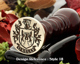 O'Kelly Wax Seal Stamp D18