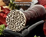 Leopard print wax seal