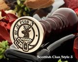 Colquhoun Scottish Clan Wax Seal D4