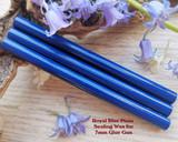 Royal Blue Plain sealing wax for 7mm glue gun