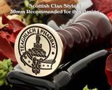 Morrison Scottish Clan Wax Seal D4