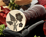 NZ Fern and NI Flax Wax Seal Stamp