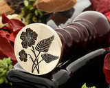 NI Flax and NI Fern Wax Seal Stamp