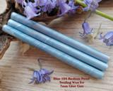 Blue 104 Medium Pearl sealing wax for 7mm glue gun