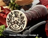 Archer (Ireland) Family Crest Wax Seal D4