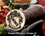 Tipping Family Crest D15